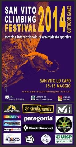 Dal 15 al 18 maggio la IV edizione del SanVito Climbing Festival a San Vito Lo Capo, Sicilia