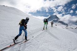 Tour du Grand Paradis 2014: Mount Ciarforn in the background