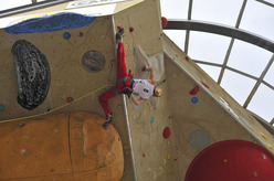 Mina Markovi competing at the Rock Master 2008