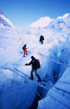 The Icefall in 2003