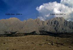 Çoban Kiri 2987m (Ala Daglar)