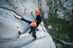 Big Wall Speed Climbing: Jurica Levatić and Perica Levatić training for the competition