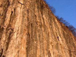 Madonna della Rota, rock climbing in Lombardy, Italy