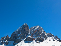 Cima Piccola di Putia: new ski descent down the North Face by Simon Kehrer, Roberto Tasser and Ivan Canins