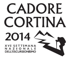 The XVI National Week of hiking 2014 takes place on most beautiful paths in the Cadore and Ampezzo Dolomites from 28 June to 6 July 2014.