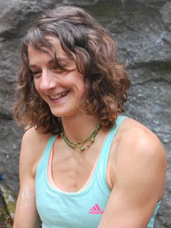 La climber francese Mélissa le Nevé