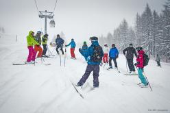 Durante il festival di Madesimo più di 200 persone hanno partecipato ai corsi di tecnica di discesa tenuti dai maestri di sci con specializzazione freeride, ai corsi di sicurezza e sci ripido proposti dalle guide alpine di Whitelines, e ai corsi di splitboard e telemark a cura dei ragazzi di Snowevents.