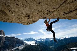 Angelika Rainer sul grande tetto di Italia '61