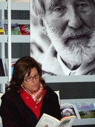Un momento della lettura collettiva del 26/09/2008 a Bolzano