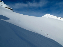Esame di sci alpinismo in Valle d'Aosta
