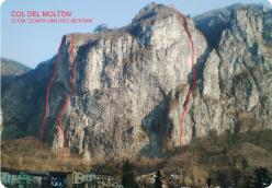 Via Zonta - Gnoato - Bertan, Col del Molton