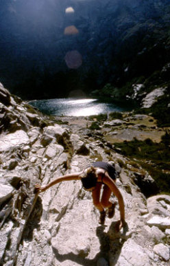 Lac de Melo and Lac de Capitello - Easy scrambles.