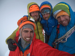 Looking for the Void, Siula Chico 6265m, Peru (Fred Degoulet, Benjamin Guigonnet, Hélias Millerioux, Robin Revest 16-20/05/2014)