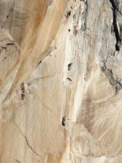 Tobias Wolf e Thomas Hering su El Nino, El Capitan, Yosemite