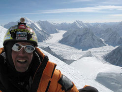 Broad Peak, Simone Moro at Camp 3
