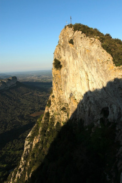 Pic Saint Loup in France
