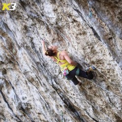 Jain Kim climbing Bibita biologica 8c, Arco