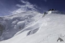 Il tentativo sul Monte Bianco: venticello su Arête des Bosses