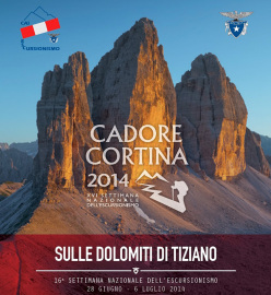From June 28 to July 6, 2014 not only hiking but also many cultural events between Cadore and Ampezzo