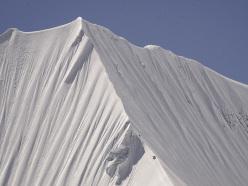 Durante il tentativo alla Cresta Ovest dell'Illimani, Ande boliviane