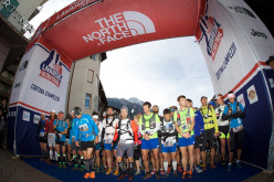 During the The North Face Lavaredo Ultra Trail 2013