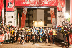 La partenza del The North Face Lavaredo Ultra Trail 2014