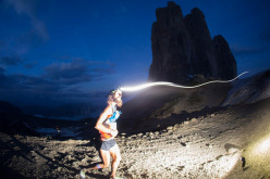 Anton Krupicka durante il The North Face Lavaredo Ultra Trail 2014