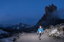 During the The North Face Lavaredo Ultra Trail 2014