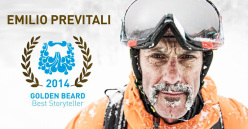 Emilio Previtali vincitore del Golden Beard come Best Storyteller 2014
