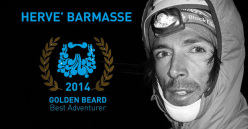 Hervé Barmasse vincitore del Golden Beard come Best Adventurer 2014
