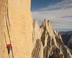 Golden Eagle, first free ascent in Patagonia