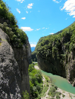 The amazing Limarò gorge