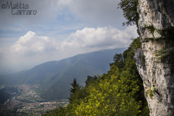 Mauro Dell'Antonia climbing Calle dea bissa