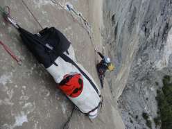 Diego Pezzoli and Roberto Iannilli repeating Tangerine Trip, El Capitan, Yosemite