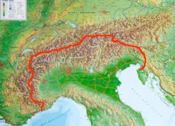 Ivan Peri's planned walk Across the Alps