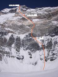 Denis Urubko & Boris Dedeshko, Eigth Women- Climbers Peak (6110m) Parete ovest.