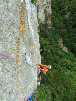 Fabio Erriu on the second pitch of Diversamente Giovani
