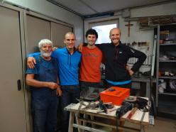 Mariano Frizzera, Alessandro Baù, Alessandro Beber e Simone Banal