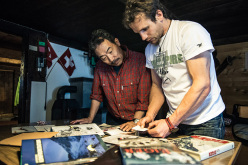 Swiss alpinist Roger Schaeli together with Takio Kato one of the first ascentionists of the