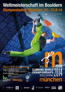 IFSC Bouldering World Championships Munich, from 21 - 23 August 2014