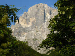 Ivo Ferrari: climbing the Diretta Alessandri - Furi - Leone, Paretone del Gran Sasso