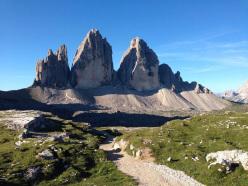 The walk around the Tre Cime di Lavaredo