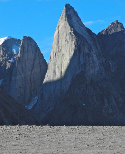 The immense Shark's Tooth, Greenland