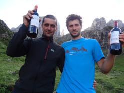 Alessandro Beber in compagnia del leggendario Jiri Leskovjan