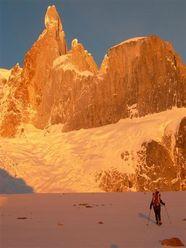 Andando verso il Cerro Torre...