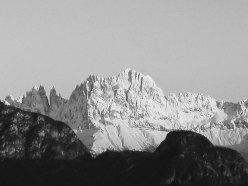 Catinaccio d'inverno - Dolomiti