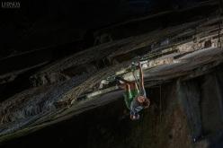Domen Škofic repeating Underground 9a at Arco