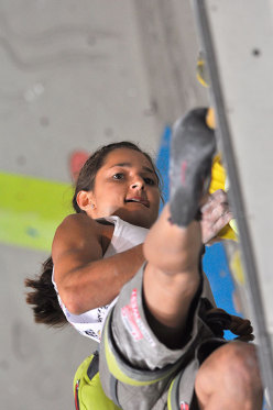 Magdalena Röck wins the Rock Master Lead 2014