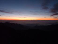 L'alba sulla Cresta Est del Monviso