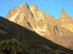 Il versante ovest del Mont Kenya.
